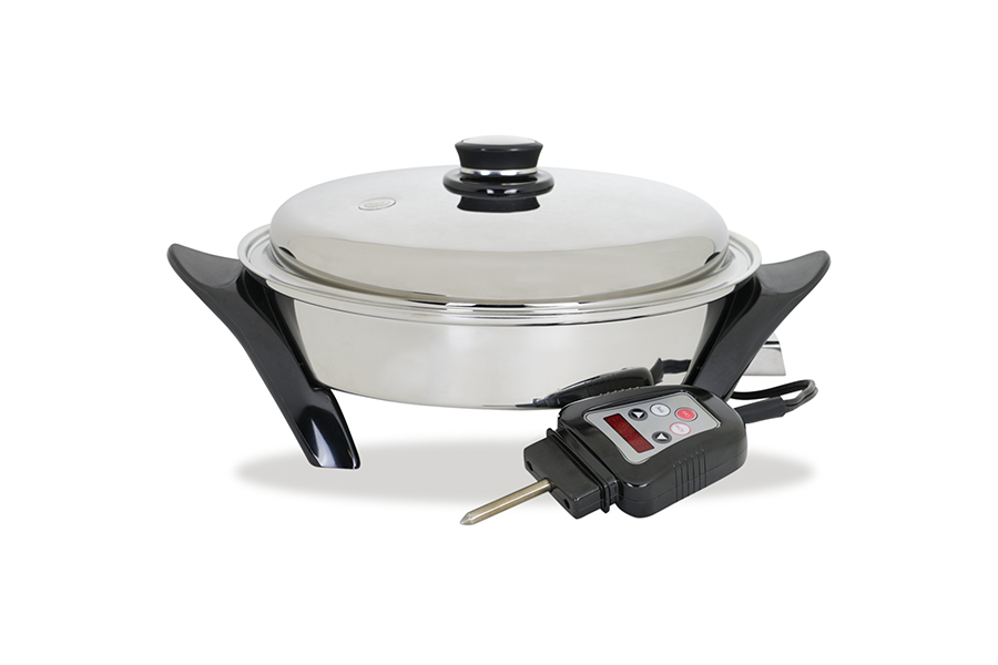 electric skillet titanium cookware