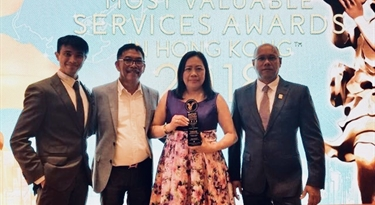 Saladmaster Hong Kong Wins Distinguished Most Valuable Company Award