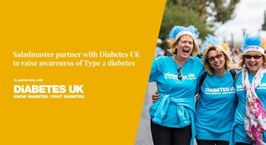 Saladmaster announces partnership with leading charity, Diabetes UK.