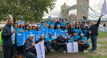 Saladmaster does the Diabetes UK London Bridges Challenge