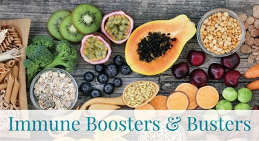 Immune Boosters and Busters