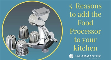5 Reasons to add the Food Processor to your Kitchen