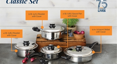 Meet our Classic Set for Your Everyday Cooking Needs