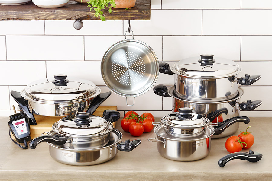 saladmaster, 316 stainless steel, 316ti stainless steel cookware, titanium cookware, 316 titanium cookware, 316 ti cookware, 316 cookware